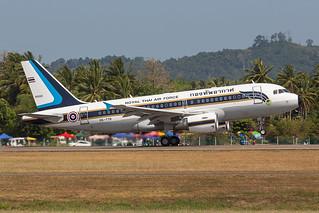 HS-TYR, Airbus A319-115CJ Royal Thai Air Force @ Langkawi LGK WMKL