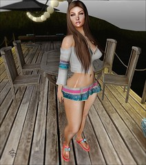 #thinking (~Thedra Diesel~ [ Blogger ]) Tags: elise furtacor stealthic beach turtle jian drd