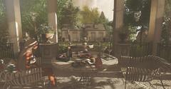 Sweet Summer... (kellytopaz) Tags: garden ionic pocket gacha home gazebo fountain summer treats ice cream flowers orange tree lemon