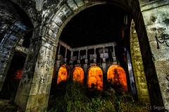 Iluminando el convento (Yorch Seif) Tags: noche night nocturna nocturnal lightpainting longexposure largaexposicion estrellas stars d7500 tokina1116