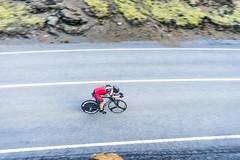 DSC06347 (Guðmundur Róbert) Tags: time trial tt iceland icelandic cycling biking road bike bikes reiðhjól bjartur hjól sony a7ii 14mm 2870mm black white sun down water aero uphill