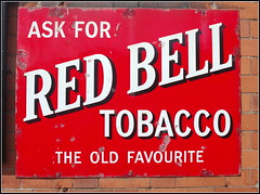 Cigarette Advertising (Lotsapix) Tags: greatcentralrailway red station enamel signs sign tobacco advertising advert preserved railway railwaystation