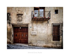 Is this the real life? (RichardK2018) Tags: oldbuilding facade barrioantiguo restaurant oldquarter spain alicante cascoantiguo zuiko714mm olympusem1mk2