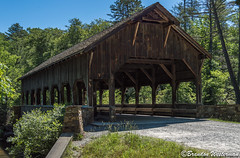DuPont State Forest Covered Bridge (Brandon Westerman WNP) Tags: north carolina dupont state forest covered bridge trail hiking architecture structure