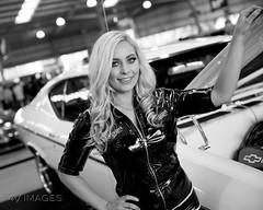 Meguiar's MotorEx 2018 (evvvvan) Tags: melbourne australia motorex meguiarsmotorex showgrounds 2018 carshow showcar chevelle gm chev chevrolet blackandwhite bw monochrome dof depthoffield tamronsp2470mmf28divcusdg2 promogirl promo beautiful jordywright