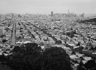 View from Bernal Heights Park // San Francisco