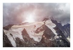 Großglockner. (Anscheinend) Tags: grosglockner alpen alps alpes alpi clouds storm gewitter glacier gletscher österreich austria landscape landschaft paysage paesaggio paisagem nature natur berge mountains montagne hiking trekking wandern