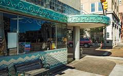 • Mayflower Café, 121 W Capitol St (1898-1901), Jackson, MS, USA (lumierefl) Tags: jackson hindscounty mississippi ms unitedstates usa northamerica south southeast deepsouth portico canopy artmoderne artdeco neon 1890s 1900s 20thcentury