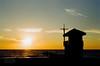 Silhouette on Redondo Beach (adamOHphotOH) Tags: california nikon n75 film 35mm ishootfilm palos verdes redondo beach ocean travel landscape sunset silhouette