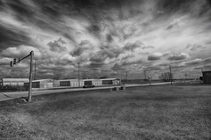 A Fair Weather Sky (kendoman26) Tags: hdr nikhdrefexpro2 niksoftware niksilverefexpro2 nikon nikond7100 tokinaatx1228prodx tokina tokina1228 morrisillinois clouds sky monochrome blackandwhite