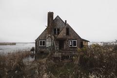Svenson Island (SkylerBrown) Tags: abandoned architecture creepy dark depressing flood gothic oregon overcast pacificnorthwest pnw rural svensonisland