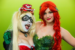 Hayley and Poison Ivy, Silicon Valley Comic Con, 2016 (Thomas Hawk) Tags: california comiccon comicconsiliconvalley conventioncenter cosplay costumeplay hayley madhatter svcc svcc2016 sanjose sanjoseconventioncenter siliconvalleycomiccon poisonivy fav10 fav25 fav50