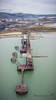 Cranes (Anthony de Schoolmeester) Tags: porttalbot steelworks ironorejetty cranes industriallandscape sea water harbour tatasteel djimavicpro mavicpro drone dronephotography southwales wales