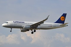 Lufthansa D-AIUJ Airbus A320-214 Sharklets cn/6301 @ EDDF / FRA 01-04-2017 (Nabil Molinari Photography) Tags: lufthansa daiuj airbus a320214 sharklets cn6301 eddf fra 01042017