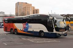 SF 54116 @ Glasgow Buchanan Street bus station (ianjpoole) Tags: stagecoach fife volvo b13rt plaxton elite sp62bnk 54116 glasgow buchanan street bus station
