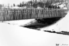 180328-49 Un pont original (clamato39) Tags: pont bridge portneuf provincedequébec québec canada noiretblanc blackandwhite bw monochrome hiver winter snow neige