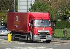 Royal Mail PE15 HKA at Welshpool (Joshhowells27) Tags: lorry daf lf box royalmail