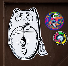 HH-Wheatpaste 3617 (cmdpirx) Tags: hamburg germany reclaim your city urban street art streetart artist kuenstler graffiti aerosol spray can paint piece painting drawing colour color farbe spraydose dose marker stift kreide chalk stencil schablone wall wand nikon d7100 paper pappe paste up pastup pastie wheatepaste wheatpaste pasted glue kleister kleber cement cutout