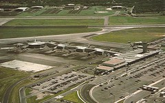 AUSmueller01 (By Air, Land and Sea) Tags: texas airport austin aus robertmuellermunicipalairport postcard terminal aircraft airline airplane