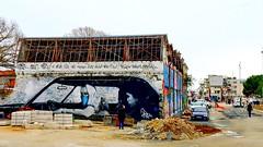 Street art (theo gvn) Tags: wall teens building old wasteland lifestyle streetart art graff graffiti