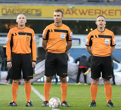 WAREGEM, 01-04-2018, Regenboogstadion. Jupiler Pro League Play-Off 2. SV Zulte Waregem - OH Leuven. (annick vanderschelden) Tags: waregem 01042018 regenboogstadionjupilerproleagueplayoff2svzultewaregemohleuven doelpunten14'harbaoui10 35'gorius11 69'depauw21 87'kostovski22 gelekaartenschuermans walsh maertens moore rodekaartendiedhiou esseveebossut defauw baudry derijck harbaoui kaya depauw83'coopman jensen89'saponjic desart hamalainen46'walshenolayinka ohleuventhamsatchanan tshimanga schuermans aguemon storm gorius78'gorius diedhiou libert persoons77'kostovskienmaertens football belgium vlaanderen be