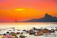 Bãi Nhát, Côn Đảo, Việt Nam (lthuong2608) Tags: bầutrời đạidương ngọnnúi biểncả đá