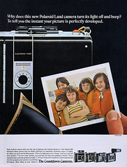 """Polaroid 350 & 360 cameras advertisement. (Jerry Vacl) Tags: advertisement magazine 1969august""""popularphotography""""magazine polaroid polaroid350 polaroid360 rangefinder nikond7200 micronikkor40mmf28gdx"""