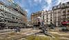 Jouet mécanique. Paris, mars 2018 (Bernard Pichon) Tags: paris îledefrance france fr bpi760 fontaine beaubourg pompidou eau jet bassin dxo