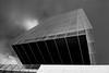 tormenta (martineugenio) Tags: buildings city ciudad cristal glass byn bw sky cielo líneas lines estructura materiales madrid españa spain europa europ downtown
