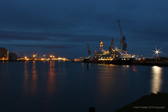 Harbour lights (victorgrattan) Tags: harbour ships lights water night
