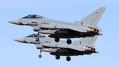 30+89 2018-04-06 EHLW (Gert-Jan Vis) Tags: 3089 3108 eurofighter ef2000 germanairforce leeuwarden frisianflag gs068 gs084