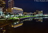 Columbus, Ohio, Supreme Court Building near the Scioto River (vdwarkadas) Tags: columbus ohio ohiosupremecourt building thomasjmoyerohiojudicialcenter sciotoriver reflection reflections water night nightscape sony sonya6000 sonyilce6000
