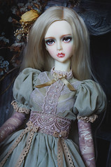 Sage Leaf (AyuAna) Tags: bjd ball jointed doll dollfie ayuana design handmade ooak clothing clothes dress set outfit fantasy historical gown style robe vetement couture fashion sd sd13 sd10 size ordoll eris hybrid sadol love60 whiteskin sewing sewingfordolls secession
