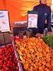 Helsinki, Finland. Fresh Veggie Market (dimaruss34) Tags: newyork brooklyn dmitriyfomenko image finland svetlanafomenko helsinki helsinkivicinity market mushrooms strawberry man