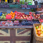 Smoothie-Stand am Markt in London thumbnail
