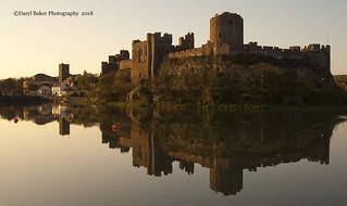 Pembroke Castle Reflections