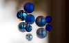 blue&brown abstraction (marinachi) Tags: blue braun brown beads mirror glass macro closeup