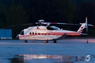 EM-001 Turkey Government (Türkiye Cumhuriyeti) Sikorsky S-92 Helibus