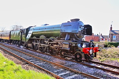 A3 FLYING SCOTSMAN 60103 (P.J.S. PHOTOGRAPHY) Tags: a3 flying scotsman 60103 steam special malton east crossing
