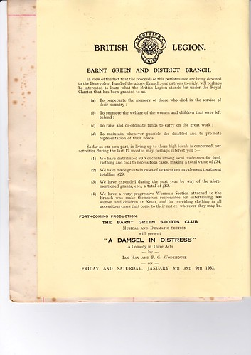 1931: Nov Programme 2