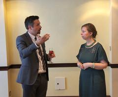 07-06-2018 Exclusive Luncheon with Secretary of State Pieter De Crem - DSC08908