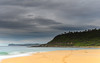 Overcast Morning Seascape and Headland (Merrillie) Tags: daybreak wamberalbeach sand sunrise sea centralcoast nature water morning surf overcast wamberal weather newsouthwales waves earlymorning nsw australia beach ocean landscape waterscape sky coastal clouds outdoors seascape dawn coast cloudy seaside
