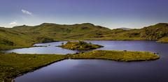 Angle Tarn. (Ian Emerson) Tags: lakedistrict tarn water crag coast2coast cumbria hiking england islands scenic beauty landscape outdoor rocks summer