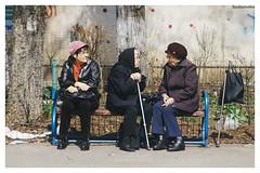 Candid Trio (II) (Alek Stefan) Tags: street city urban streetphotography bucharest sony a7ii canon 35105mm candid life spring