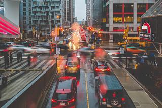 Rainy Day Downtown