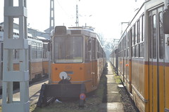 BKV Zrt 1314 (Will Swain) Tags: angyalföld depot budapest 6th january 2018 tram trams light rail railway rails transport travel europe hungary east eastern county country central capital city centre bkv zrt 1314