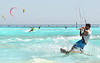 kitesurfer (poludziber1) Tags: travel beach blue toscana italy italia livorno mare sport ocean sea