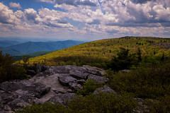 Shadows  of   Clouds (Ted Bowman Photography) Tags: canaanvalley spring2018workshop westvirginia bearrocks dollysods sky clouds mountains tamron2470f28g2