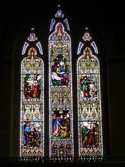 Church - Llandudno, Holy Trinity 180424 [Stained Glass Window 2a] (maljoe) Tags: church churches llandudno llandudnoholytrinity holytrinity stainedglass stainedglasswindow stainedglasswindows