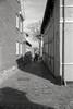 Hyggefærdsel i Ribe's små stræder (mgfoto2011) Tags: leicam4 voigtländercolorskopar21mmf4 expiredfilm selfdeveloped xtolreplenished minoltascanmultipro ribe